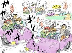 埋め込み画像 Kuroo Haikyuu, Haikyuu Manga, Haikyuu Funny, Haikyuu Fanart, Daisuga, Kuroken, Fanarts Anime, Anime Chibi, Anime Art