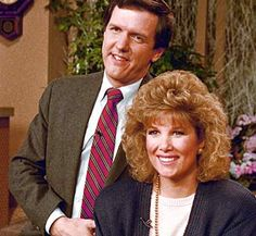 Charles Gibson and Joan Lunden