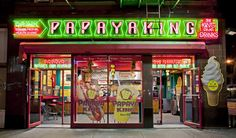 PapayaKing New York: James and Karla Murray's new book 'New York Nights', showcases the city's iconic facades - Radio City Music Hall, Village Vanguard, Yaffa Cafe and many other locations that have made New York the iconic city.