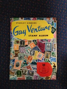 Never not collecting!  Gay Venture stamp album