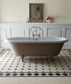 Recreate Victorian Elegance And Charm Using These Intricate Floor Tiles For An Eye Catching Effect That Immediately Sets The Ambience In Any Room
