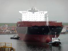 CSAV TOCONAO Containership in Mangalia, Romania