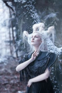 Morena (in Slovak & Russian), Marzanna (in Polish) , Morana (in Czech & Slovene) is a Slavic goddess associated with seasonal rites based on the idea of death & rebirth of nature. She is associated with death, winter & nightmares. Some medieval Christian sources such as the Czech 9th century Mater Verborum compare her to the Greek goddess Hecate, associating her with sorcery.