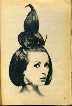 Quite an interesting little whoop-de-doo on her head