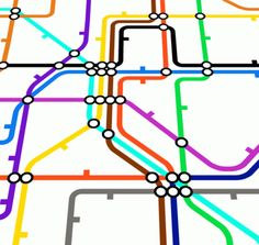 The tube map is in no way geographically accurate. | 12 Things Only London Commuters Will Know