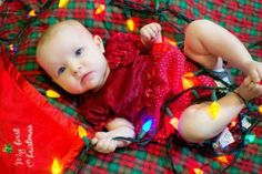 Merry Christmas... from the baby! { Other } | Lisa Steltenpohl Photography