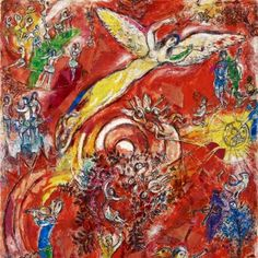 """Marc Chagall 's final model for """"The Triumph of Music"""" mural at Metropolitan Opera (detail), private collection. © Archives Marc et Ida Chagall, Paris Marc Chagall, Artist Chagall, Chagall Paintings, Metropolitan Opera, Pierre Auguste Renoir, Paul Gauguin, Kandinsky, Henri Matisse, Scrappy Quilts"""