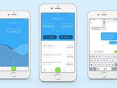 Banking App Screen by Jakub Reis #Design Popular #Dribbble #shots