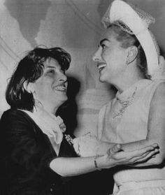 Anna Magnani & Joan Crawford