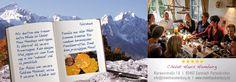 """Chalet Haus Hamburg advertisement at the """"Bergwelten"""" magazine of Garmisch-Partenkirchen; autumn 2015"""