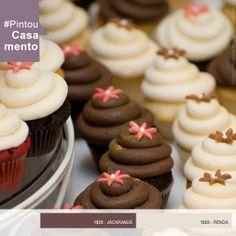 Cupcakes coloridos para adoçar seu casamento! #PintouCasamento #wedding