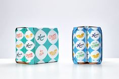 Hansa Borg Brewery Carbonated Mixers — The Dieline - Branding & Packaging…