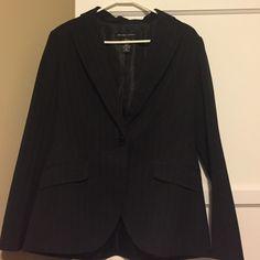 New York & Company Black Pinstripe Blazer Perfect condition! Super flattering jacket! New York & Company Other