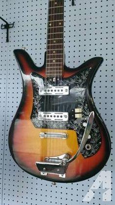 Teisco Tulip Guitar - $195