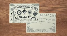 In my next life i want to be a tattoo artist with this biz card…is that too much to ask?!