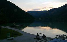 Sunset,  Webcam Erlaufsee, Austria