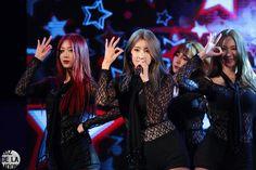Nine Muses Minha, Hyuna & Erin
