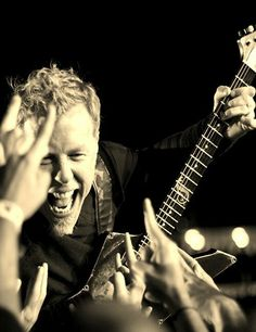 James Hetfield...This makes a Monday morning a bit easier