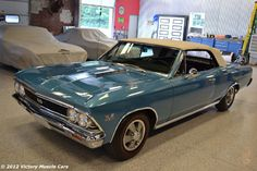 1966 Chevrolet Chevelle SS 396 Convertible :: Victory Muscle Cars