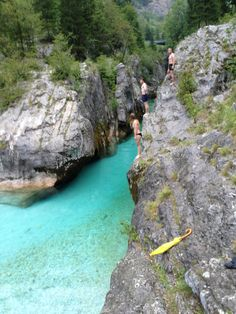 Soča river in beautiful Slovenia https://fernwehbeat.wordpress.com/2015/12/06/eslovenia-slap-kozjak-soca-dreznica-bohinj-bled-skofa-loka-ljbljana/