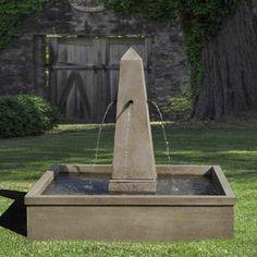 Campania International, Inc Cast Stone Fountain Color: Copper Bronze
