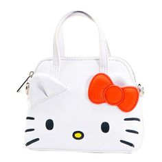 Buy Hello Kitty Mini Dome Crossbody Purse at Entertainment Earth. Mint Condition Guaranteed. FREE SHIPPING on eligible purchases. Shop now! Kawaii Bags, Shoulder Strap, Hello Kitty, Shop Now, Mint, Entertainment, Earth, Embroidery, Free Shipping