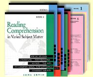 Reading Comprehension in Varied Subject Matter: Each selection follows a consistent format 7-step format in presenting the passage, and includes exercises on vocabulary and writing.