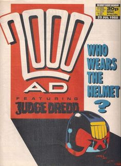 2000ad PROG 584  featuring JUDGE DREDD  FLEETWAY COMICS  1988  vf(8.0) ~