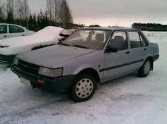 Car bought in and for duty station in Iceland 1994- 87 Toyota Corolla