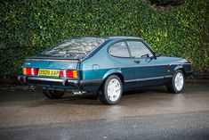 The Ford Capri: Classic that's done just 936 miles sold Classic Cars British, Ford Classic Cars, Ford Rs, Car Ford, Retro Cars, Vintage Cars, James Bond Movie Posters, Mercury Capri, Car Brochure