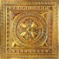 Faux Tin Ceiling Tile - Talissa Decor offers top quality Faux Tin Ceiling Tiles in a variety of colours, part of Talissa's Signature Collection. 3d Wall Panels, Ceiling Panels, Victorian Ceiling Tile, Tile Warehouse, Faux Tin Ceiling Tiles, Background Decoration, Tin Art, Wall Murals, Art Tiles