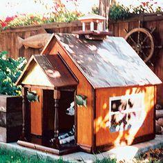 Doghouse contest < Creative doghouse design ideas - Sunset.com