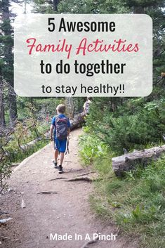 It's super important to develop good lasting habits for a healthy life. These 5 … It's super important to develop good lasting habits for a healthy life. These 5 family activities are easy and fun to do together to build… Continue Reading → Outdoor Activities For Kids, Activities To Do, Toddler Activities, Healthy Kids, How To Stay Healthy, Healthy Living, Parenting Advice, Kids And Parenting, Natural Parenting