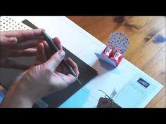 {1, 2, 3, 4… Süße Verpackungen °1} Verpackung für zwei Mon Cheri mit der Stanze Gewellter Anhänger | Papers & Stamps