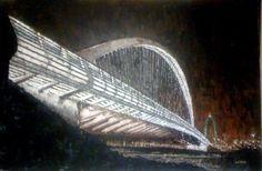 Scalvamento_00  One of three bridges by Santiago Calatrava in Scalvamento (Italy)