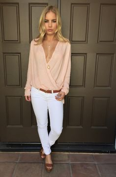 Let It Go Wrap Blouse - PINK