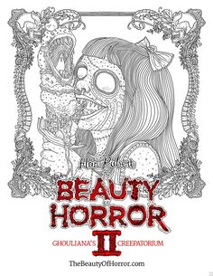 30 Best Colouring Gothic Horror Images Coloring Books