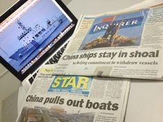 Is China pulling out of Scarborough? Philippine News, Boat, China, Sweet, Candy, Dinghy, Boats