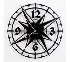 Zegar ścienny - deLorentis - Graphic - Colombus