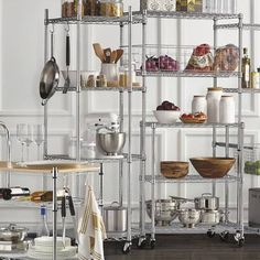 Four-Tier Corner Shelf & Liners Pantry Shelving, Steel Shelving, Wire Shelving, Kitchen Shelves, Adjustable Shelving, Storage Shelves, Kitchen Storage, Kitchen Organisation, Garage Storage Systems