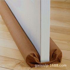 Twin Door Draft Dodger Guard Stopper Energy Saving Protector Doorstop Useful