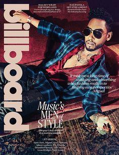 Billboard Magazine Billboard Magazine Music's Men of Style featuring Sam Hunt, Wiz Khalifa, Adam Lambert & Miguel