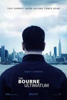 The Bourne Ultimatum: written by Robert Ludlum, directed by Paul Greengrass