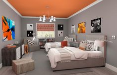 bedrooms 3d renderings