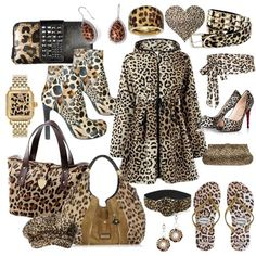 I LOVE all things leopard.