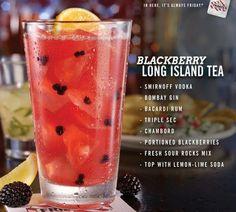 Fridays - Blackberry Long Island Tea