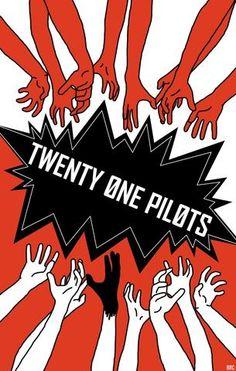 Twenty One Pilots - Mini Print D ~ From '' twenty one pilots (my obsession) '' xMagic xNinjax 's board ~