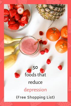 Healthy Food List, Healthy Food Choices, Healthy Recipes, Healthy Foods, Diet Recipes, Anti Depression Food, Vitamix Green Smoothie, Smoothies, Healthy Living Magazine