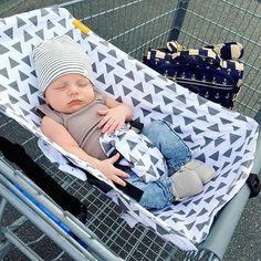 Binxy shopping cart hammock