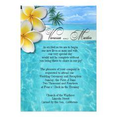 Beach Wedding Invitations, 15,000+ Beach Wedding Announcements & Invites